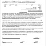 Hearing Aid Contract - Printed Contract