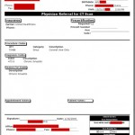 Radiology Scheduling - Referral Form