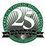 Elyria Catholic High School 25th Anniversary Football Championship