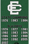 Elyria Catholic High School Football Banner