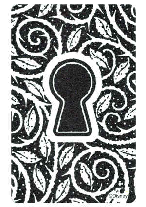 Sorcerers of the Magick Kingdom - Key Card Back