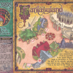 Sorcerers of the Magic Kingdom Map - Fantasyland