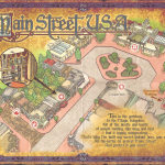 Sorcerers of the Magic Kingdom Map - Main Street U.S.A.