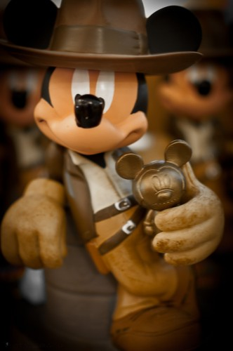 Mickey Mouse as Indiana Jones and the Golden Mickey