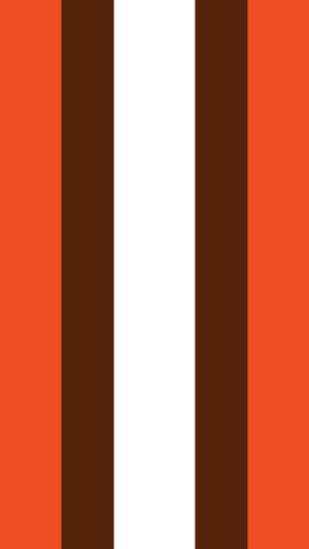 Cleveland Browns Football Helmet Stripe iPhone 5 Wallpaper