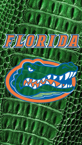 University of Florida Gators iPhone 5 Wallpaper