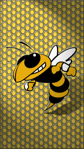 Georgia Institute of Technology (Georgia Tech) Yellow Jacket iPhone 5 Wallpaper